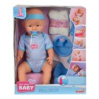 New Born Baby Verzorgingsset Jongen