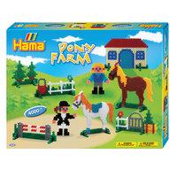 Hama Strijkkralenset - Pony Farm, 4000st.