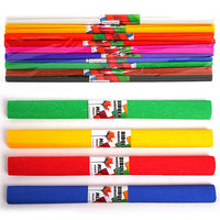 Crêpepapier, set van 10 kleuren