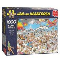 Jan van Haasteren Op het Strand, 1000st.