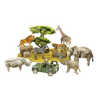 3D Puzzel African Wildlife - National Geographic