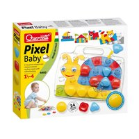Quercetti Pixel Baby Insteekmozaïek Slak