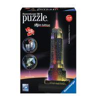 Ravensburger 3D Puzzel Empire State Building bij Nacht