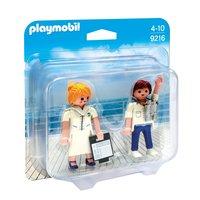 Playmobil 9216 Duopack Steward en Stewardess