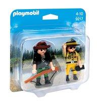 Playmobil 9217 Duopack Boswachter en Stroper