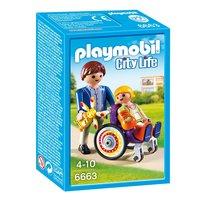 Playmobil 6663 Kind in Rolstoel