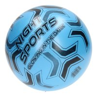 Voetbal Glow in the Dark - Blauw