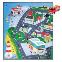 Brandweerman Sam Speelmat Stad