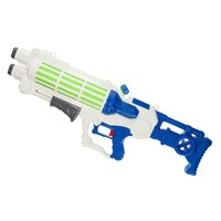 Waterpistool Space met Pomp - Wit, 75cm