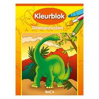 Kleurblok Dinosaurussen