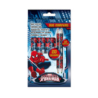 Spiderman Duo-Markers, 10st