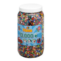 Hama Strijkkralen in Pot - Mix (068), 13.000st.