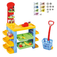Playgo Supermarkt & Trolley Set
