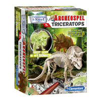 Wetenschap & Spel Archeospel - Triceratops Fluo