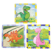 Puzzel Hout - Dino