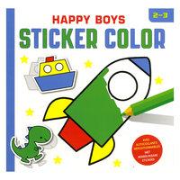 Happy Boys Sticker Color