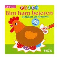 Bim Bam Beieren - Pasen Plakken & Kleuren