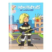 Deugnietjes Plak en Kleur - De Brandweer