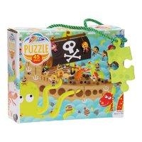 Zeemonsters en Piraten Puzzel, 45st.