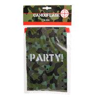 Camouflage Uitdeelzakjes, 6st.