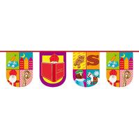 Vlaggenlijn Sint Kids Halfrond