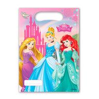 Disney Prinses Uitdeelzakjes, 6st.