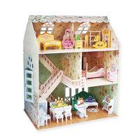 3D Puzzel Dreamy Poppenhuis