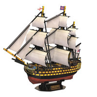 3D Puzzel HMS Victory Oorlogsschip