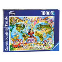 Disney's Wereldkaart, 1000st.