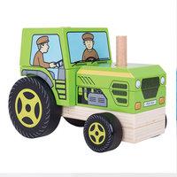 Houten Stapelspel Tractor