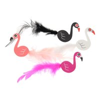 Flamingo Gummetjes, 4st.