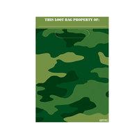 Camouflage Uitdeelzakjes, 8st.