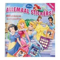 Allemaal Stickers! Disney Prinses