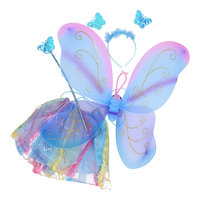 Verkleedset Vlinder - Blauw