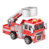 3D Puzzel Brandweerauto