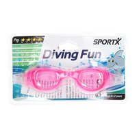 SportX Junior Zwembril Pro - Roze