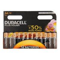 Duracell Plus Power Duralock Alkaline AA/LR6, 12st.