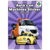 Autoâs en Machines Sticker Doeboek