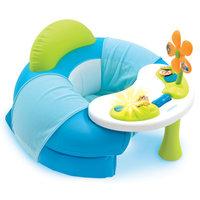 Smoby Cotoons Babystoel met Activiteitentafel - Blauw
