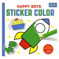 Happy Boys Sticker Color