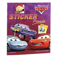 Cars Kleur- & Stickerboek