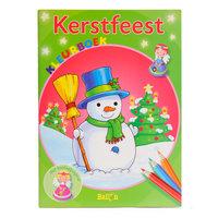 Kerstfeest Kleur- en Knutselboek
