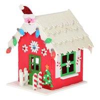 Maak je eigen Foam Kersthuis