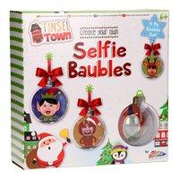 Maak je eigen Selfie Kerstballen, 4st