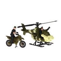 Army Forces Speelset - Helikopter en Motor