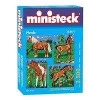 Ministeck Paarden met Achtergrond 4in1, 3500st.