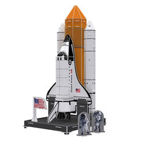 3D Puzzel Space Exploration - Space Shuttle