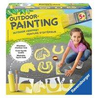 Outdoor Painting - Paarden