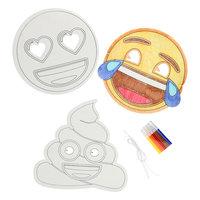 Emoji Maskers Maken, 3st.