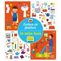 Stickerboek Zoek en Plakken - In Mijn Huis